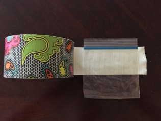 fancy Duck Tape for my DIY purse