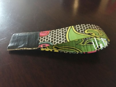 mini Duck Tape purse handle