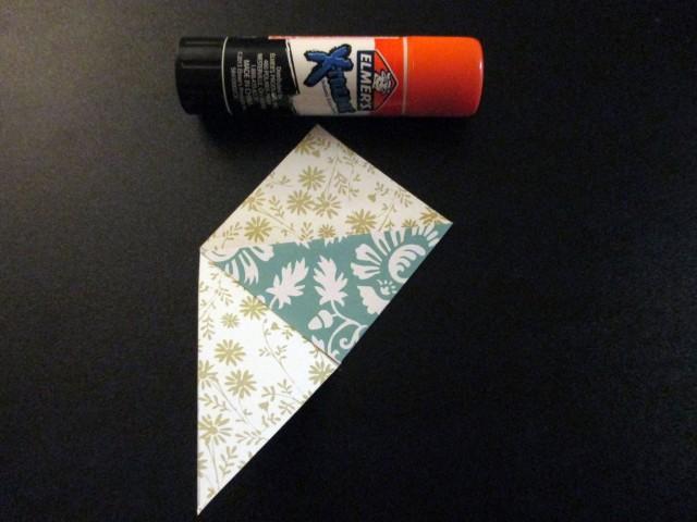 bookmark paper folds