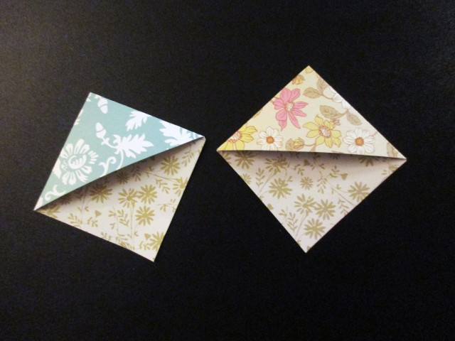 paper bookmarks for page corners