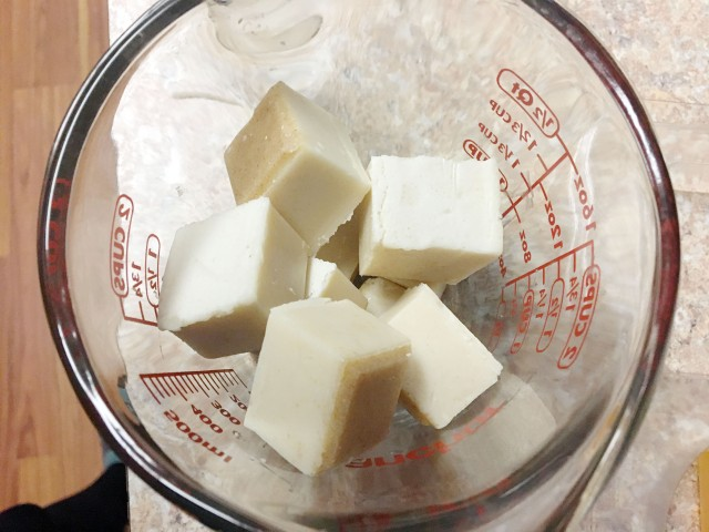 Oatmeal soap base