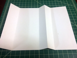 final folds for gift card holder