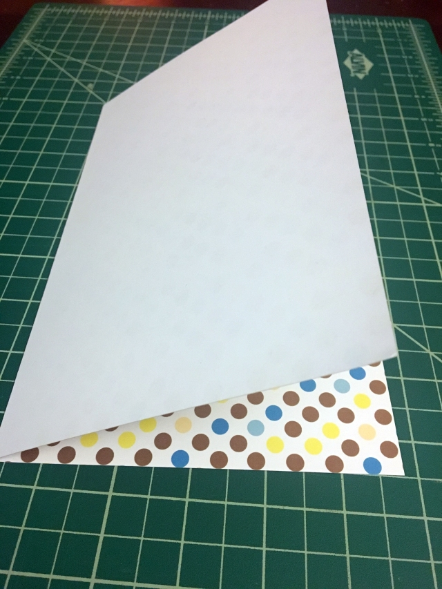 fold 1 for DIY gift card holder