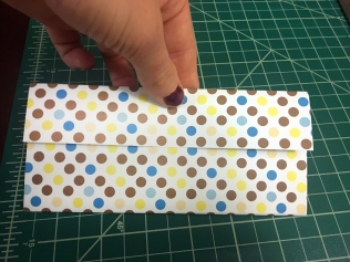 gift card envelope in progress