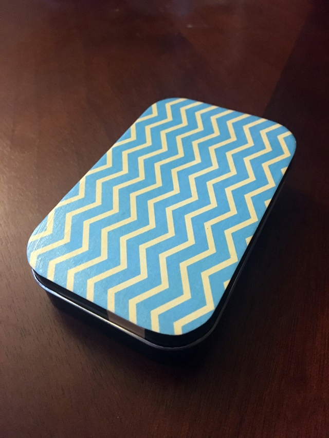 beautify an Altoid Tin