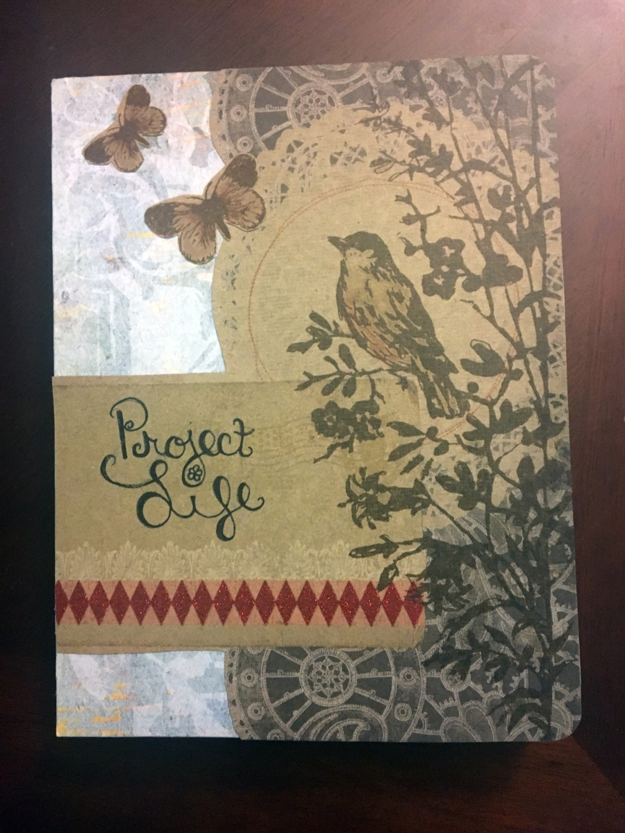 DIY Smashbook Cover: Project Life