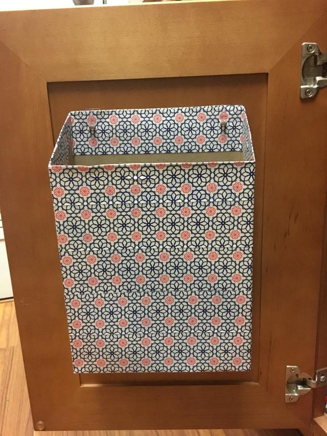 kitchen organizer plastic wrap aluminum foil
