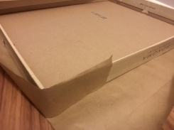box wrapping steps