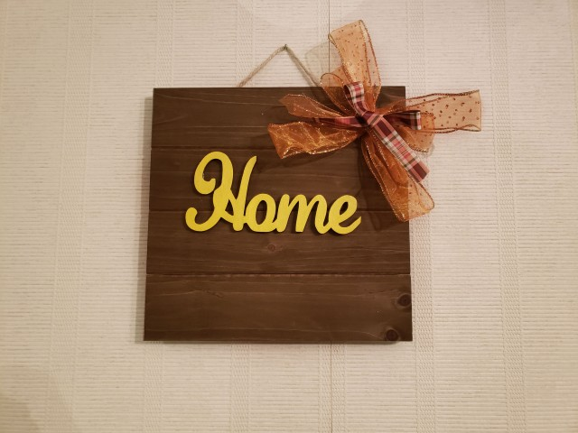 diy farmhouse home sign